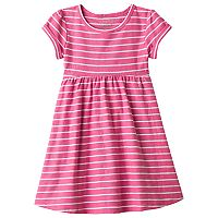 Toddler Girl Jumping Beans® Striped Roll Cuff Dress