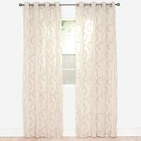Portsmouth Home 2-pack Andrea Embroidered Curtain