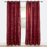 Portsmouth Home 2-pack Dinah Jacquard Curtain