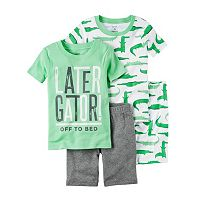 Baby Boy Carter's 4-pc. Tee & Shorts Pajama Set