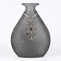 San Miguel Tierra Gray Decorative Bottle Table Decor