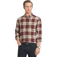 Big & Tall Arrow Classic-Fit Plaid Button-Down Shirt