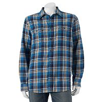 Men's SONOMA Goods for Life™ Modern-Fit Flannel Shirt
