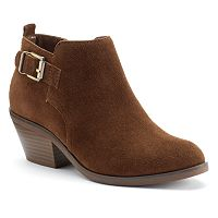 SONOMA Goods for Life™ Giana Women's Suede Ankle Boots