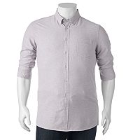 Big & Tall SONOMA Goods for Life® Classic-Fit Oxford Button-Down Shirt