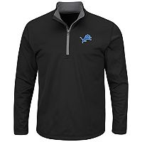 Men's Majestic Detroit Lions Across the Line Pullover