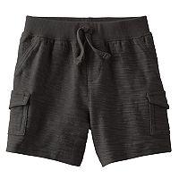 Baby Boy Jumping Beans® Slubbed Cargo Shorts