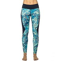 Women's PL Movement by Pink Lotus Swirl Running Leggings