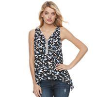 Women's Juicy Couture Embellished Handkerchief Tank