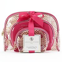 Adrienne Vittadini 3-pc. Cosmetic Bag Set