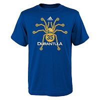 Boys 8-20 adidas Golden State Warriors Kevin Durant Player Nickname Tee