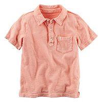 Boys 4-8 Carter's Solid Polo Shirt