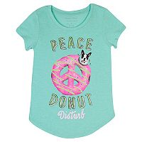 Girls 7-16 Harper & Elliott Rounded-Hem Graphic Tee