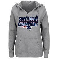 Plus Size New EnglandPatriots Super Bowl LI Champions Hoodie