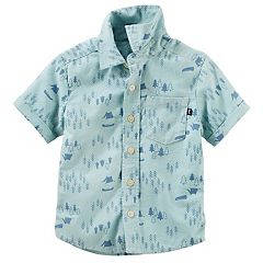Toddler Boy OshKosh B'gosh Printed Oxford Shirt