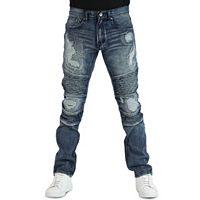 Men's Earl Jean Yuna Biker Fit Tapered Stretch Denim Jeans