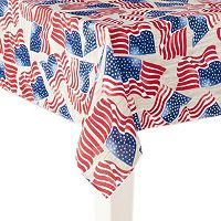 Celebrate Americana Together Flag Tablecloth