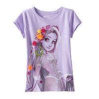 Disney's Tangled Girls 4-7 Rapunzel Flower Applique Tee by Jumping Beans®