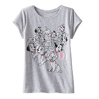 Disney's 101 Dalmations Toddler Girl Glitter Tee by Jumping Beans®