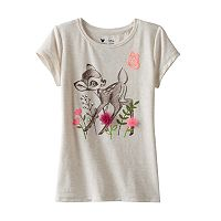 Disney's Bambi Girls 4-7 Flower Applique Tee by Jumping Beans®