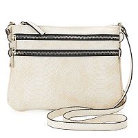 Mondani Rhodes Double Zip Crossbody