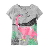 Baby Girl Carter's Graphic Embellished Tee