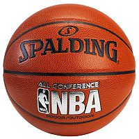 Spalding NBA All Conference 29.5-Inch Official Indoor/Outdoor Basketball