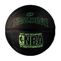 Spalding NBA Street Phantom 29.5-Inch Neon Green Official Outdoor Basketball