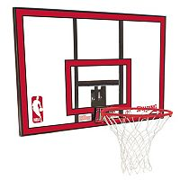 Spalding 44-Inch Polycarbonate Combo Basketball Backboard