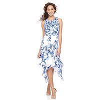 Women's Bethany Floral Handkerchief Hem Dress