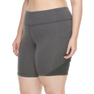 Plus Size Tek Gear® Shape Short with Tricot Mesh