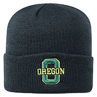 Youth Top of the World Oregon Ducks Tow Cuffed Beanie