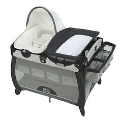 Graco Pack 'n Play Quick Connect Portable Napper Deluxe & Bassinet Set by