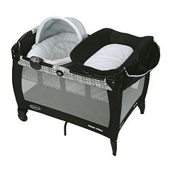 Graco Pack 'n Play Newborn Napper with Soothe Surround Technology Bassinet by