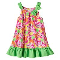 Baby Girl Sophie Rose Fruits Ruffle Dress