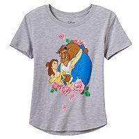 Disney's Beauty & The Beast Belle Girls 7-16 Rose Graphic Tee