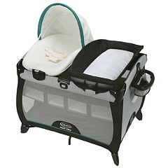 Graco Pack 'n Play Playard Quick Connect Portable Napper & Bassinet Set by