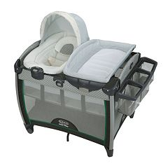 Graco Pack 'n Play Quick Connect Portable Bouncer & Bassinet Set by