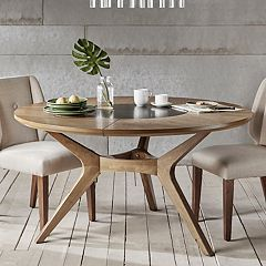 INK+IVY Metro Round Dining Table by