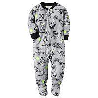 Baby Boy Carter's Print Footed Pajamas