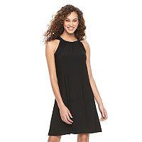 Women's MSK Halter Shift Dress