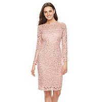 Women's Onyx Nite Lace Sheath Dress