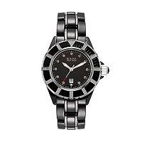 Bulova Women's Accu Swiss Diamond Stainless Steel & Ceramic Watch - 65R156