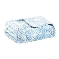 Madison Park Isabella Textured Ultra Plush Blanket