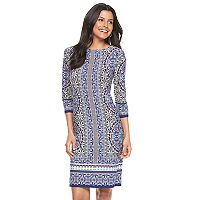 Women's Suite 7 Moroccan Medallion Shift Dress