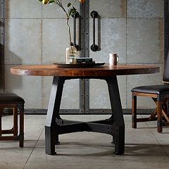 INK+IVY Lancaster Round Dining Table by