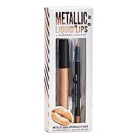 Academy of Colour 2-pc. Metallic Liquid Lips