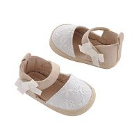 Baby Girl Carter's Crochet Espadrille Crib Shoes