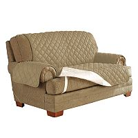 Serta Ultra Suede Waterproof Chair Slipcover