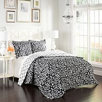 Marble Hill 3-piece Hadley Reversible Comforter Set